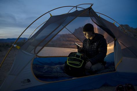 KINGS CANYON TENT, #THERMOBALL HOODIE, ROUTER CHARGED DAYPACK, BONES BEANIE. #mountainheritage