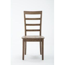 Jarvis Solid Wood Dining Chair Reviews Joss Main Solid Wood Dining Chairs Dining Chairs Rustic Dining Chairs