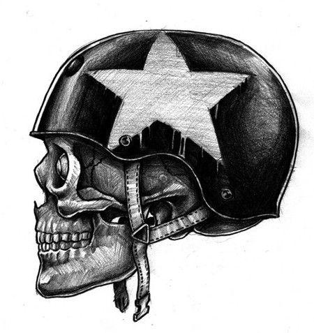 Skull Motorcycle Helmets for your Skull - Badass Helmet Store