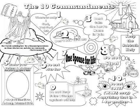 Download Or Print This Amazing Coloring Page Ten Commandments For Kids Coloring Pages High Ten Commandments Kids Bible Coloring Pages School Coloring Pages