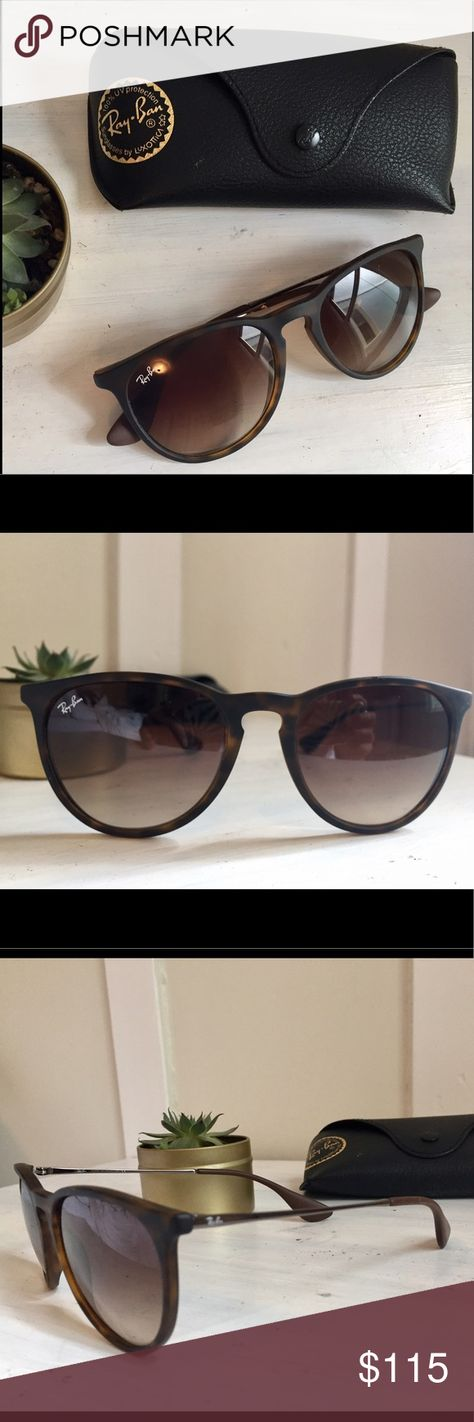 a8b1296afee Erika Raybans Erika style ray bans. Tortoise frames. Purchased for full  price at Sunglass hut. Lightly worn. Ray-Ban Accessories Sunglasses