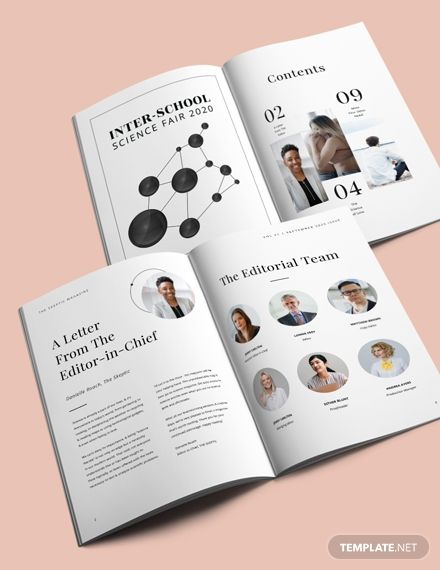 Science Article Magazine Template [Free Publisher] - InDesign, Word, Apple Pages | Template.net
