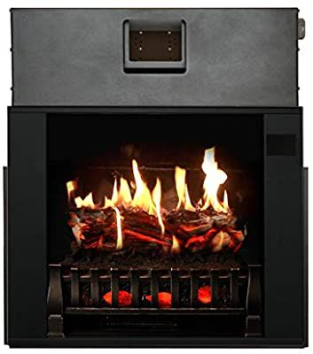 Magikflame Electric Fireplace 28 Insert Large Black Firebox 30 Flames Large Freest Realistic Electric Fireplace Fireplace Electric Fireplace