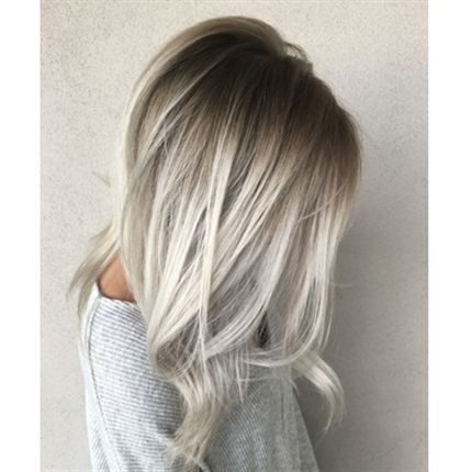 How To Smoky Shadow Root In 2019 Hair Color Blonde Hair