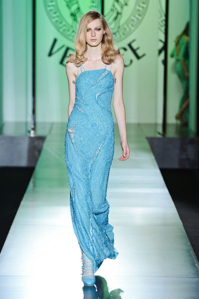 Versace Couture Fall 2012 - Versace's Most Unforgettable Couture Runway Dresses - Photos