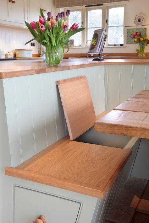 Pin by NeverKnowsBest on house Pinterest Banquettes, Corner - küche selber bauen anleitung
