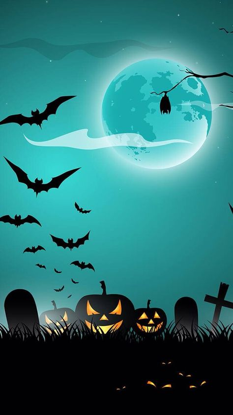 Wallpaper Halloween All Hallows Eve All Saints Eve Night