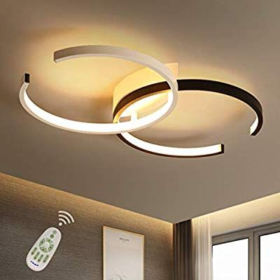Led Ceiling Light Dining Room Fixture Flush Mount Dimmable With Remote Control Bedroom Ceiling Lamp Mo Ceiling Lights Led Ceiling Lights Ceiling Lamps Bedroom
