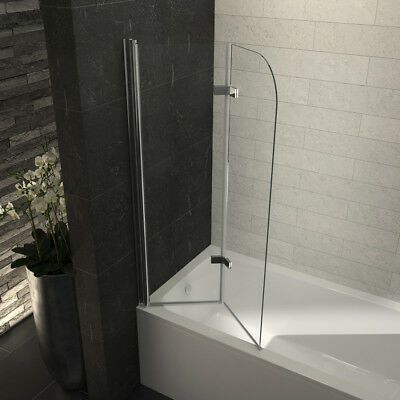 Details Zu Badewannen Duschabtrennung Nano Glas Badewannenaufsatz
