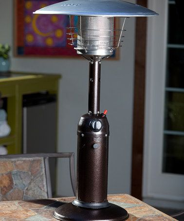 Look What I Found On Zulily Hammer Tone Bronze Table Top Patio Heater By Fire Sense Zulilyfinds Tabletop Patio Heater Patio Heater Propane Patio Heater