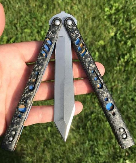 This Balisong Sword Is A Replica Of The Blade Used By Alita