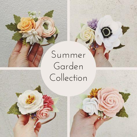 Bee S Garden Hair Accessories Exciting New Summer Garden
