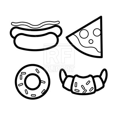 Pin On Pizza Vector Files