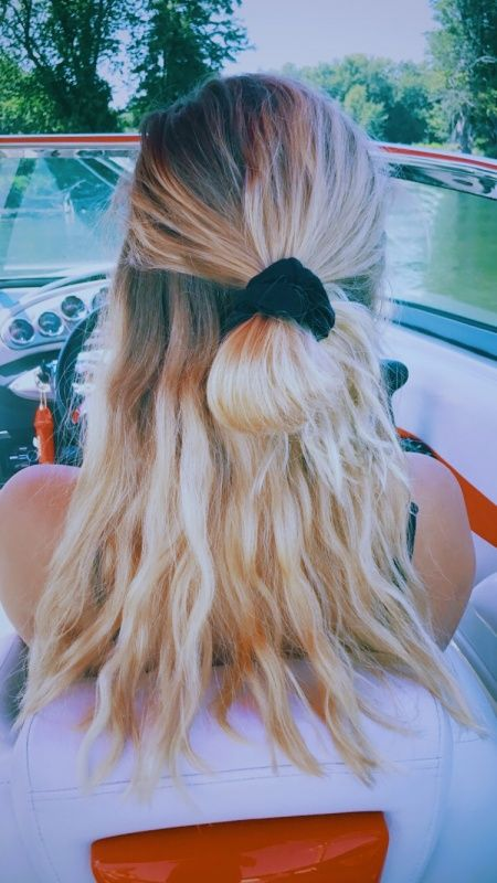 Half Up Half Down Bun Half Up Half Down Hair Hair Styles Cute