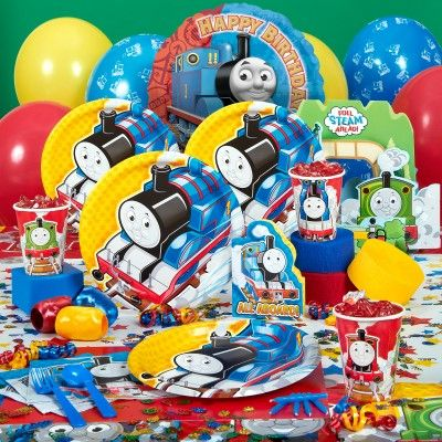 From the invitations featuring Thomas the Train and his friends, Percy and James to the great selection of cake decorations, your child will be thrilled with this birthday selection. The invitations will include  http://partythemesforbirthday.com