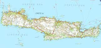 Znalezione Obrazy Dla Zapytania Mapa Krety Kreta