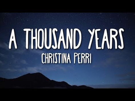 Christina Perri - A Thousand Years (Lyrics) 🎵 One Song Workouts, Workout Songs, Mini Workouts, Cheer Workouts, Morning Workouts, Love Song Quotes, Bff Quotes, Christina Perri, Thousand Years Lyrics