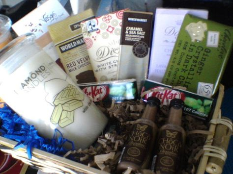 Chocolate Raffle Basket