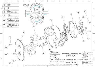 Planos Con Ciri Engranajes Dibujo Dibujo Mecanico Vistas Dibujo Tecnico