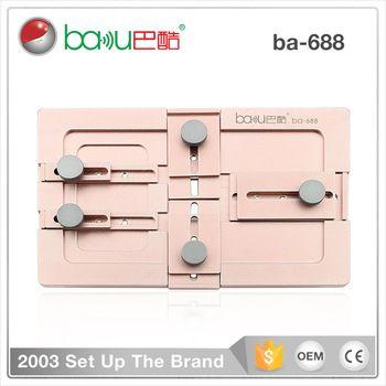 Baku Ba 688 Mobile Phone Repair Equipment High Precision Metal Lcd Lamination Frame Mold For Iphone Phone Repair Mobile Phone Repair Mobile Phone