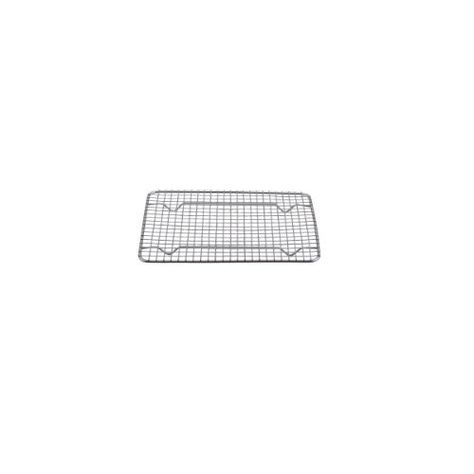Chris-Wang 1Pack Multi-Purpose Round Stainless Steel Cross Wire Steaming Cooling Barbecue Rack //Carbon Baking Net//Grill //Pan Grate with Legs 13.8Inch Dia