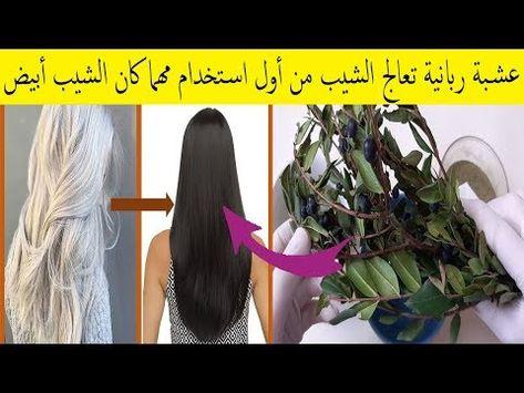 الآس عشبة ربانية بامتياز تقضي على الشيب نهائيا مهما كان الشعر ابيض ومهما كان عمرك في 3 أيام فقط Youtube Hair Control Body Skin Care Body Skin