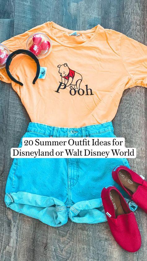 20 Summer Outfit Ideas for Disneyland or Walt Disney World by Snugzmeow
