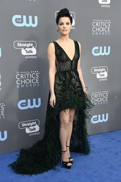 Actor Jaimie Alexander attends the 23rd Annual Critics' Choice Awards.