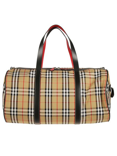 255ec69a40c8 BURBERRY LARGE VINTAGE CHECK HOLDALL.  burberry  bags  leather  hand bags