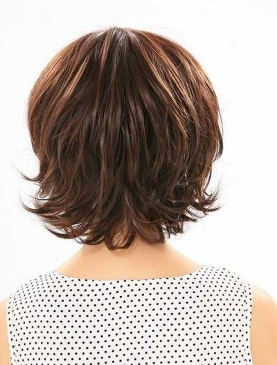 Frisuren 2018 Mittellang Frisuren Gestuft Mittellang Frisuren Gestuft Mittellang Frisur Hair Styles Thick Hair Styles Short Layered Bob Haircuts
