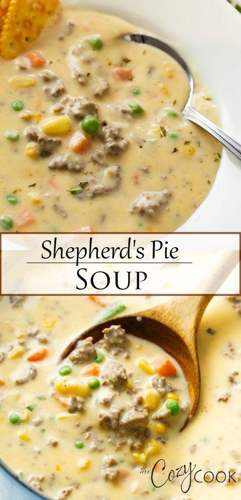 Shepherd's Pie Soup