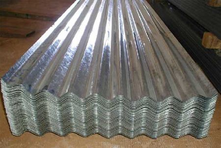 Home Dzine Home Diy How To Install Corrugated Sheet Metal Corrugated Metal Wall Corrugated Metal Metal Roof
