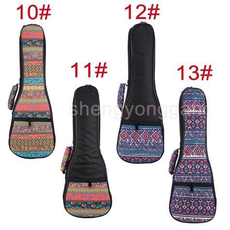 10 39 Aud 21 23 26 Ukulele Guitar Canvas Case Gig Bag Padded Straps Backpack Soft Ebay Lifestyle Ukulele Case Ukulele Bags