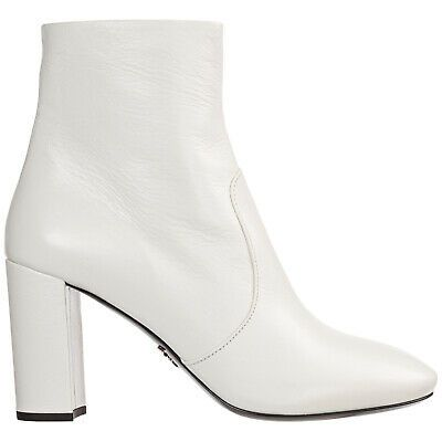 Prada heeled ankle boots women
