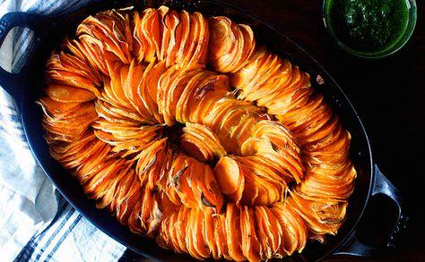 Try This Stunning Sweet Potato Dish via Brit + Co.