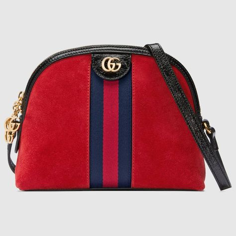 Zigzag Line Pattern With Red Unisex Crossbody Single Shoulder Bag Purses And Handbags Premium Crossover Bag