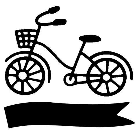 Savvy Stamps Mini Bike Die Set Com Imagens Silhueta Adesivos