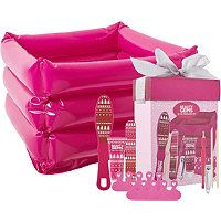 Beauty Gems 10 Piece Pedicure Set has everything you need to wash, buff, trim, and moisturize your feet. Give yourself the perfect pedicure!