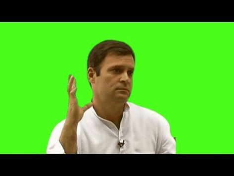 Rahul Gandhi Maza Aaya - Green Screen