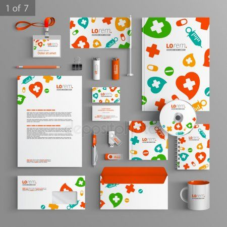 Corporate Identity Editable Corporate Identity Template Stationery Template Design Stock Illustration In 2020 Stationery Templates Event Branding Stationery