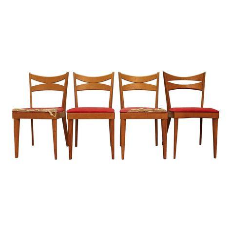 Mid Century Dining Chairs Danish Modern Heywood Wakefield