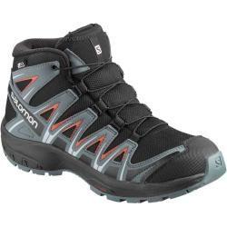Salomon Xa Pro 3d Schuhe Kinder Schwarz 34 0 Salomon In 2020 Hiking Fashion Kid Shoes Hiking Boots