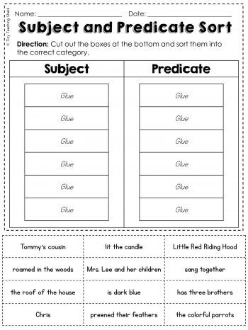 Simple And Compound Sentences Tiny Teaching Shack Subject And Predicate Subject And Predicate Worksheets Simple And Compound Sentences Complete and simple subjects worksheets