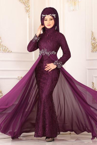 Modaselvim Evening Dresses Evening Wear 8855w153 Damson With Images Evening Dress Fashion Dress Accessories Dresses
