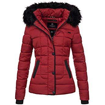 Winterjacke warme Damen Marikoo Steppjacke Winter Jacke drWCBoex