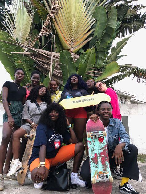 Skate Gal Club Is the First All-Girls Skateboard Group in Ghana