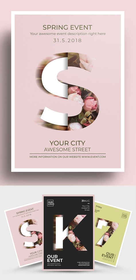 Creative MultiPurpose Brochure and Flyer Templates   Advertising   Graphic Design Blog