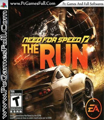 Need For Speed The Run (Video Pc Game) Highly Compressed,Free