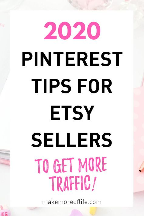 How to Promote Your Etsy Shop Using Pinterest - Make Money on Etsy
