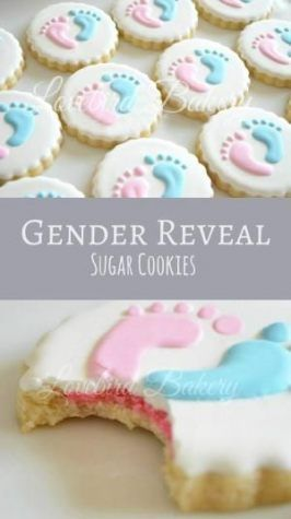 59 Ideas Baby Shower Food For Girl Creative Sugar Cookies 2019